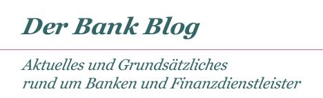 Der Bank Blog